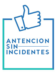 atención sin incidentes