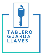 tablero guardallaves